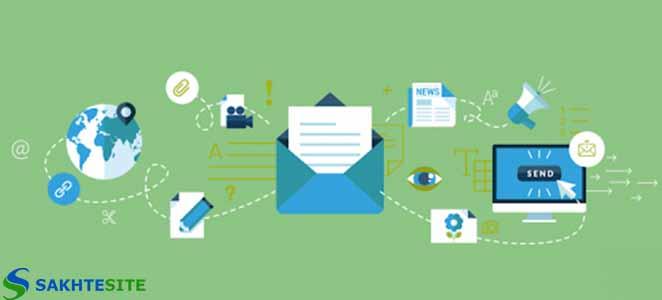 نمونه قالب ایمیل مارکتینگ