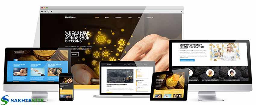 طراحی سایت صرافی آنلاین